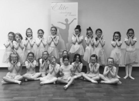 Elite Academy of Dance Tuesday 4.30 Ballet Class